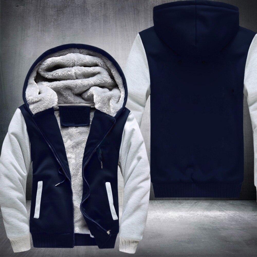 High Quality fleece Thicken zipper Hoodie Customize design
