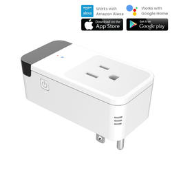 US Smart Plug Wi-Fi умная розетка мощность мониторы синхронизации вкл/выкл инфракрасный дистанционное управление работает с Google Home Alexa голос