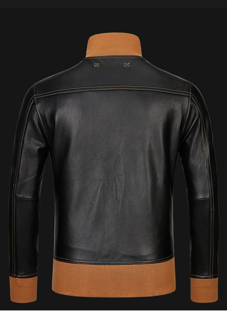 HTB1qCZcXU rK1Rjy0Fcq6zEvVXa1 Free shipping,mens classic A1 leather Jacket,vintage genuine sheepskin coat.thin soft black men jackets.flight clothing