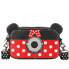 цена на 2019 New Fashion Design Women Mickey Shaped Bag Cute Funny Women Evening Bag Clutch Purse Chain Shoulder Bag for Birthday Gift