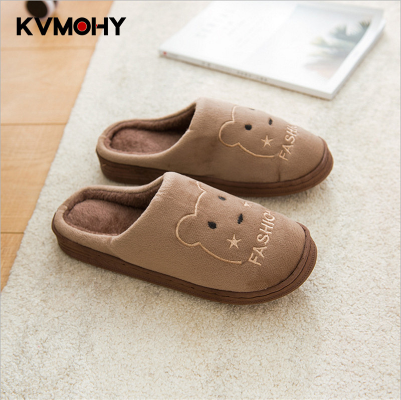 New Shoes Women&men Home Slippers Winter Shoe Warm Slipper Male Cartoon Indoor Flip Flops Cute Floor Couple Slippers slipper