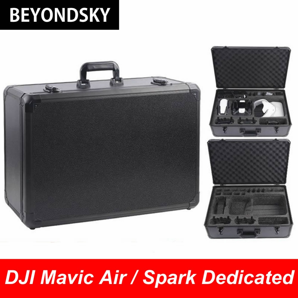 New Type DJI Mavic Air Drone Waterproof Handheld Carrying Case Aluminum Frame Shockproof Suitcase Standard Protection Quadcopter