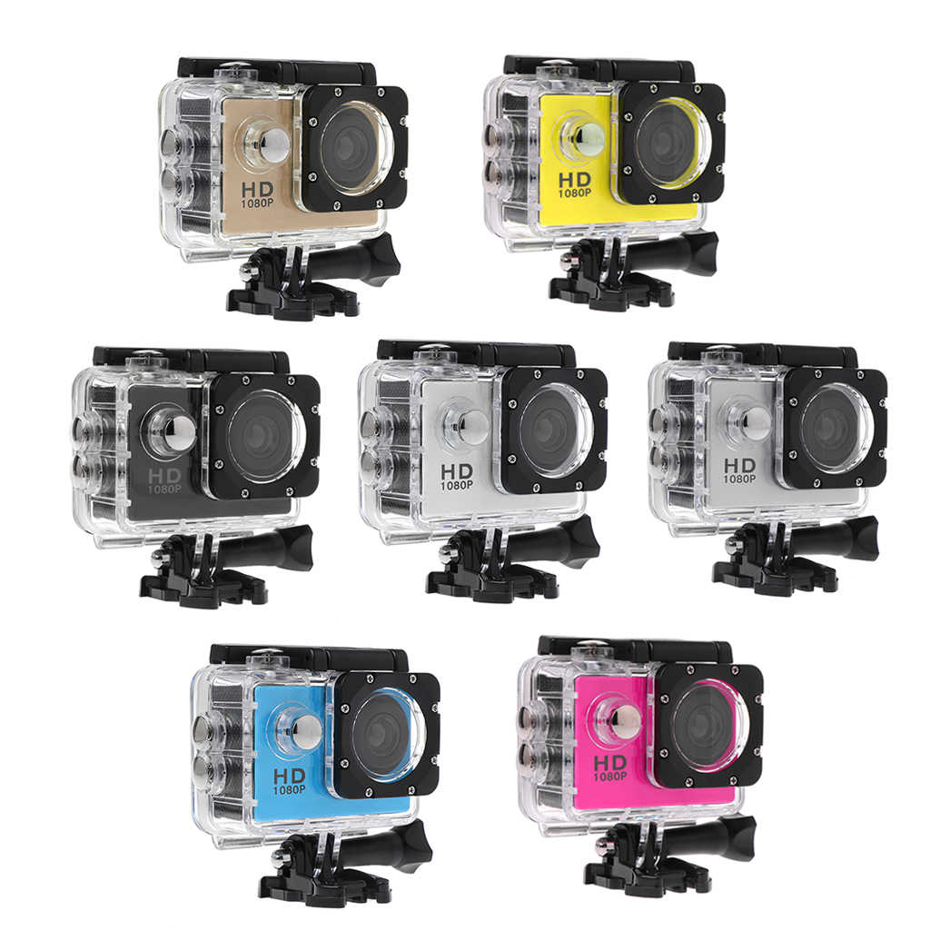 Waterproof Diving 1080P HD Camera Helmet Cam Video Camcorder DVR DV Action Recorder Electronic Articles