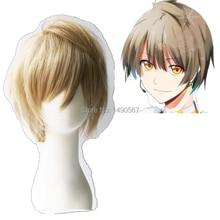 Love Live! Minami Kotori Male Ver Short Light Yellow Cosplay Wig