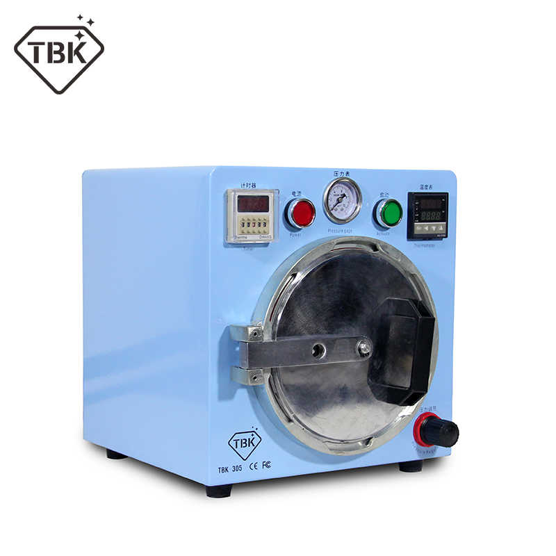 TBK-305 mini oca bubble remover machine 500w auto air bubble removing machine for LCD refurbishment