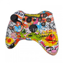 Hydro Dipped Sticker Bomb Wireless Controller For Microsoft Xbox 360 Console Game Controller Joystick