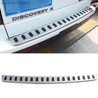 Rear Bumper Guard Protector Placa (Original) para Land Rover Discovery 4 304 Inoxidável Tampa Etiqueta Do Carro Styling Acessórios|Amortecedores|   -