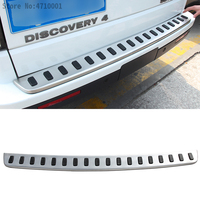 Rear Guard Bumper Protector Plate (Original) for Land Rover Discovery 4 304 Stainless Cover Sticker Car Styling Accessories