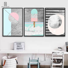 Modern Abstractionism HD Pattern Unframed Posters Gerometric Shape Decorative Canvas Images For Home Living Room Decoration