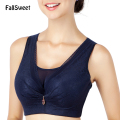 FallSweet C D cup Women Vest Bra Comfortable Everyday Wear Push Up Brassiere 38 40 42 44 46