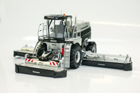 1:32 60157 Kron Big M 450 silvergrass комбайн, трактор farm модель автомобиля сплав Коллекционная модель