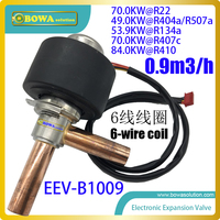 84KW (R410) electronic expansion valve (EEV) is Applicable refrigerants: R22,R134A, R404A, R407C,R507Aetc in HVAC/R units