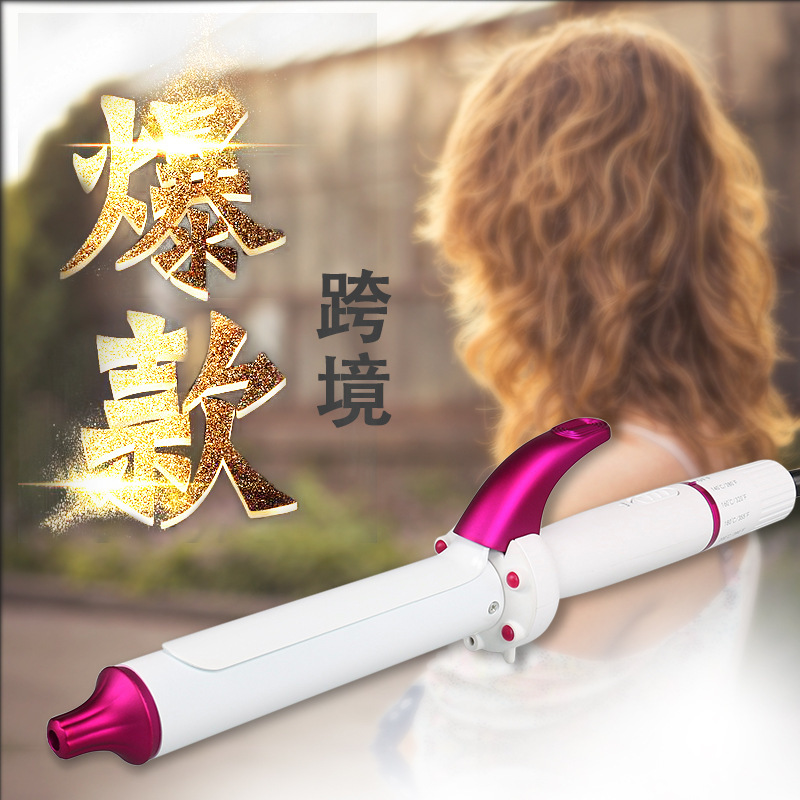 2019 NEW ARRIVAL High Quality Curling Iron Hair Curler Wand Curl  Magic Hair Curling Iron Salon Tools Titanium Auto Hair Curlers
