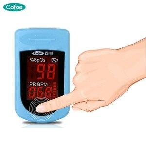 Image 3 - Cofoe الإصبع نبض مقياس التأكسج الدم جهاز لقياس الأكسجين كليب نوع SPO2 PR نبض أوكسيموترو إصبع دي بولسو دي ديدو التشبع