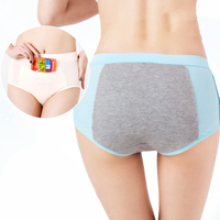 LANGSHA Women Physiological Panties Lady Leakproof Menstrual Period Broadened Sexy Underwear Health Cotton Briefs Girls Briefs women's panties
