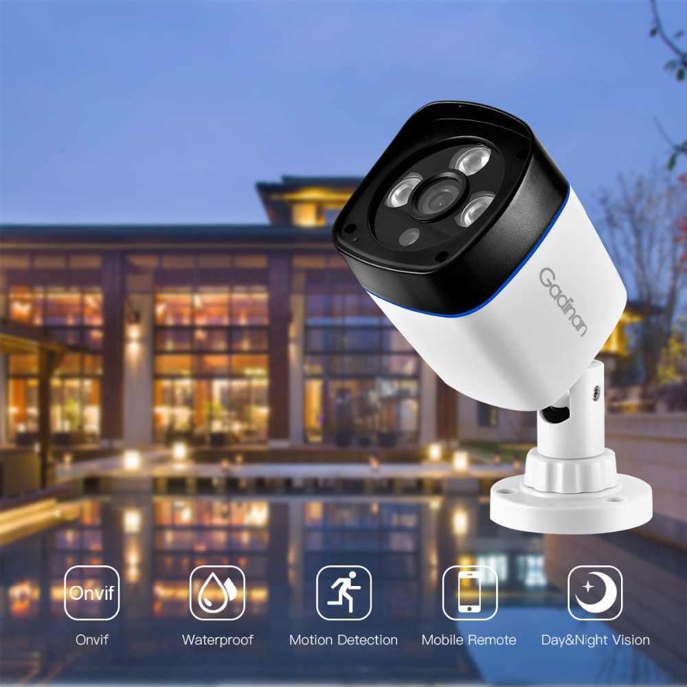 GADINAN H.265 3MP 1080P SONY IMX307 2304x1296 H.264 960P 720P IP камера наблюдения видео Пуля Открытый ИК CCTV ONVIF 48V PoE