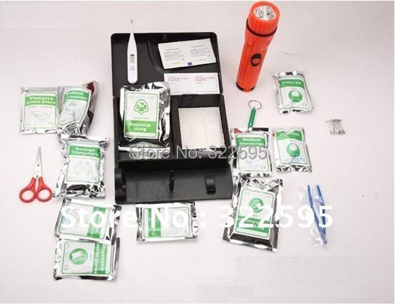free shipping luxury earthquake disaster kit first aid box earthquake case 130pcs in 1 ict in disaster management case study of kenya red cross society