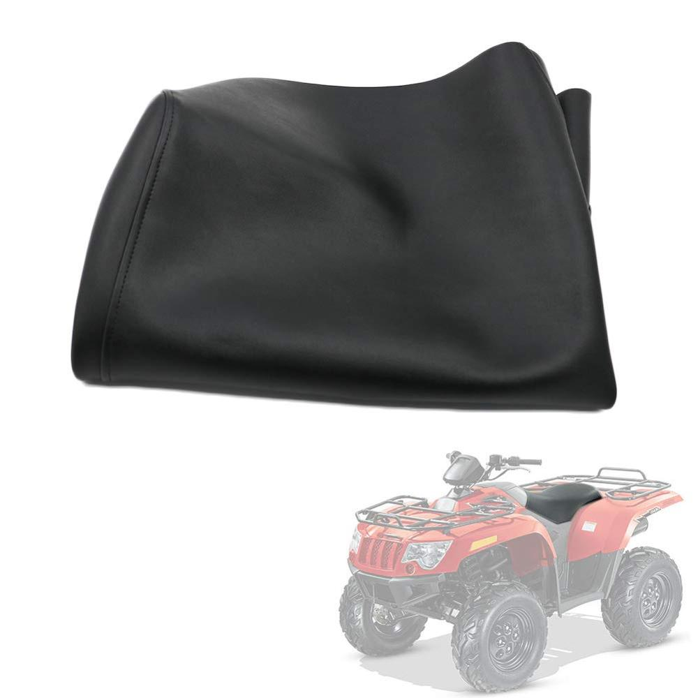 Motorcycle Driver Seat SKIN Saddle Cushion Vinyl Cover For Arctic Cat 4X4 2X4 1996-2005 250 300 400 454 500 Bearcat 342