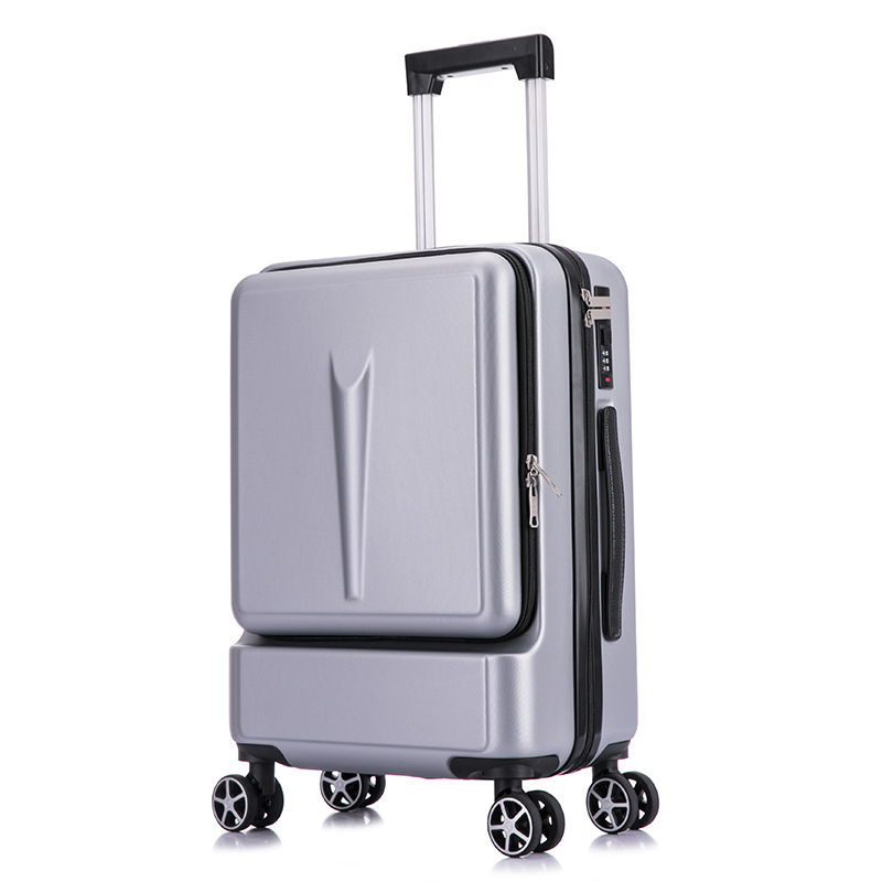 Rolling Luggage Travel Suitcase Case 20inch 24inch with Laptop Bag Men Universal wheel Trolley ABS fashion suitcase