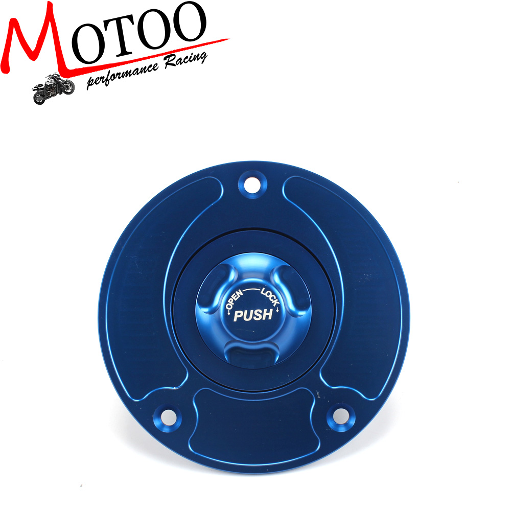 Motoo - Motorcycle CNC Aluminum Fuel Gas CAPS Tank Cap tanks Cover With Rapid Locking For SUZUKI GSX1300R HAYABUSA GSF 650 1250S cnc keyless fuel tank gas cap for suzuki sv650 sv650s 2003 2010 gsf 650 1250 s bandit gsx650f 2008 2010