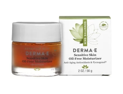 NEW Derma E Sensitive Skin Oil-Free Moisturizer 2oz Womens Skincare beautiful beginnings vadesity conditioning oil moisturizer