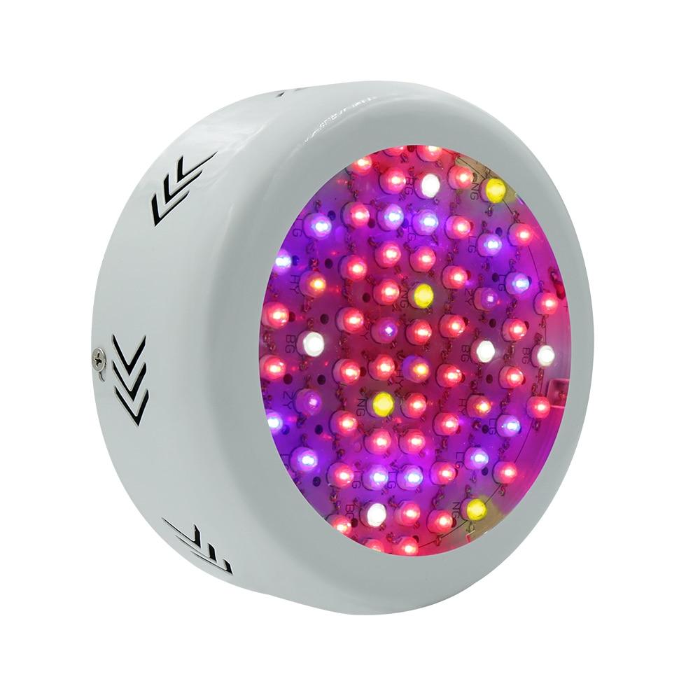 Hydroponics 216W UFO LED Grow Light Full Spectrum LED Plant Grow Light for Indoor Plants Growing