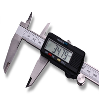 2018 Metal 0 150mm Electronic Vernier Caliper Electronic Ruler Accuracy Value 0 01mm For Silver Coin