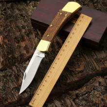 60HRC High quality Folding knife 440 Blade Steel+solid wood Handle outdoor Camping Tactical Hunting Knives Utility Survival Tool voltron damascus blade tactical folding knife wood handle outdoor utility camping survival knife hunting hand tool knives