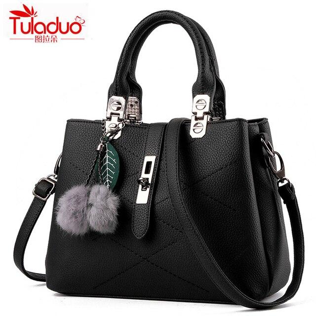 2016 5 Cores Mulheres sacos de bolsas de grife de alta qualidade bolsa de couro pu tote sacos de ombro das mulheres saco ocasional bolsa feminina