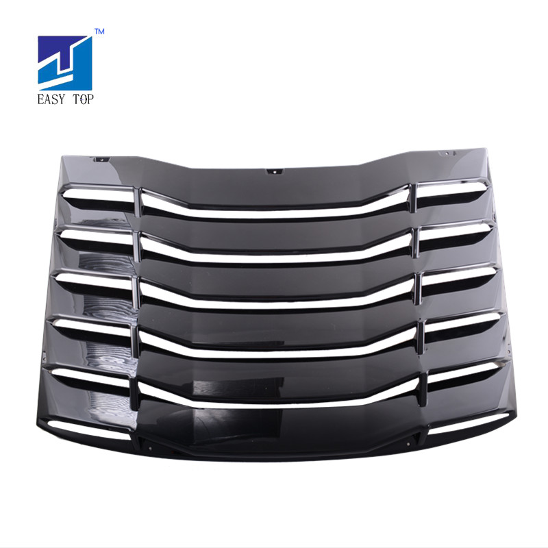 ABS Rear Window Louvers Cover/Sun Shade For 2016-2019 Chevy Camaro