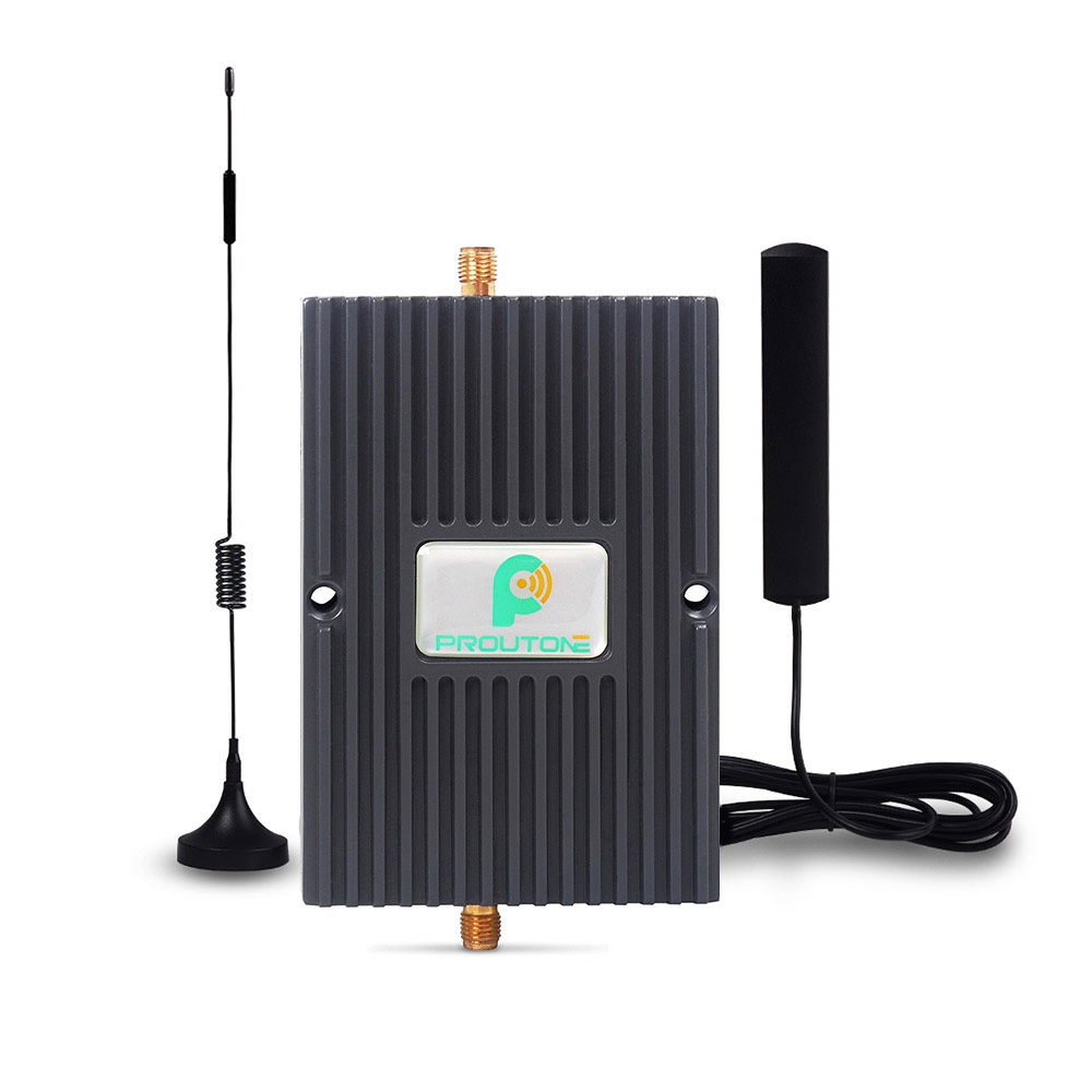 100% Original cell phone GSM Repeater 4G 2G LTE 1800MHz DCS gsm 45dB Mobile Phone Signal Booster Amplifier Kit for Car Truck Use