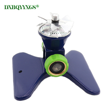 Automatic 360 degree rotation Mild rain water Garden Sprinklers Spiral spray Lawn nozzle agriculture watering Irrigation Tool
