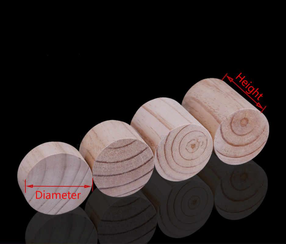 4 шт. мебель из цельного дерева, увеличивающие ноги, шкаф, диван, стол, стул, кровать, концевой стол, коврик для ног, мебель, увеличенный коврик, круглая сосновая древесина