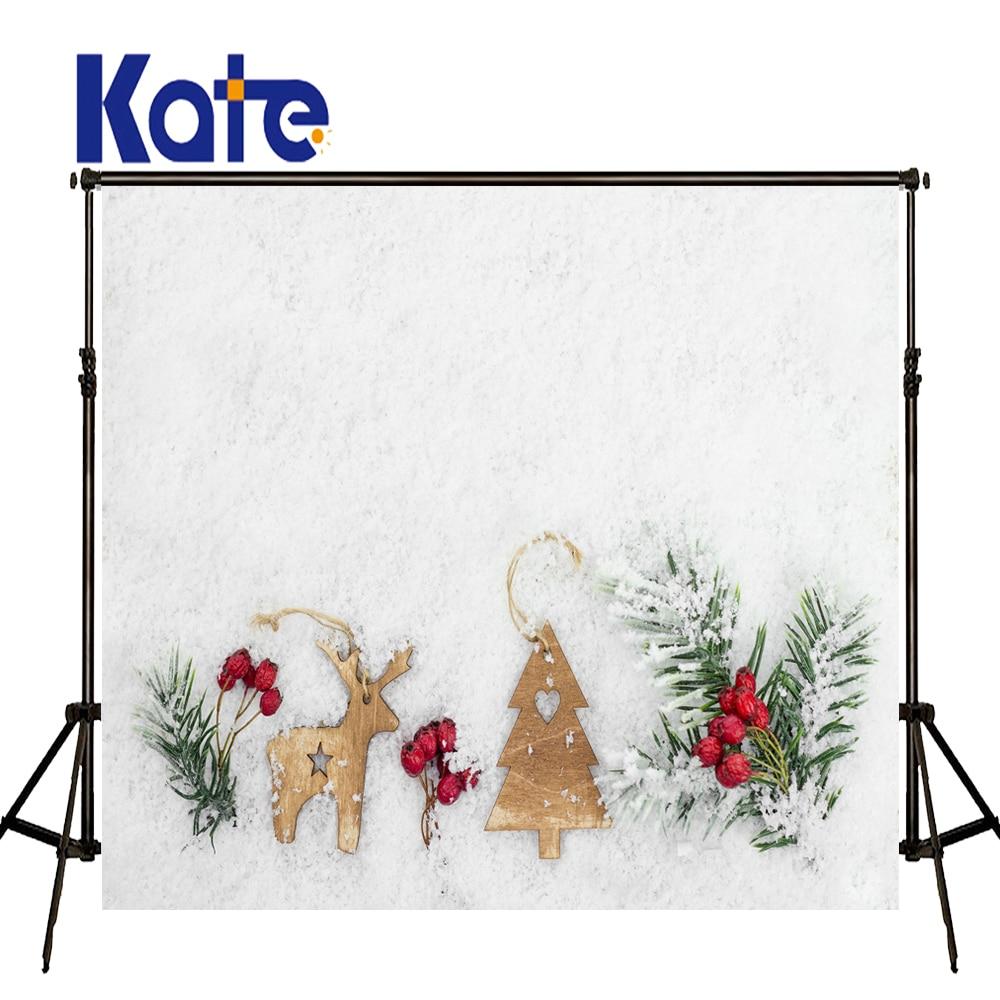 KATE Photo Background Christmas Photo Backdrop White Snow Backdrops Naturism Children Photos Wood Decorations For Newborn Studio