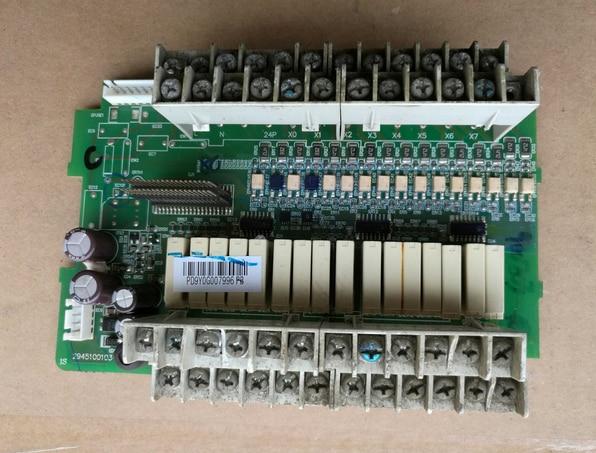 interver drive board DVP32ES00R2 IO board dhl ems 1pc dvp32es00r2 original plc io board plate