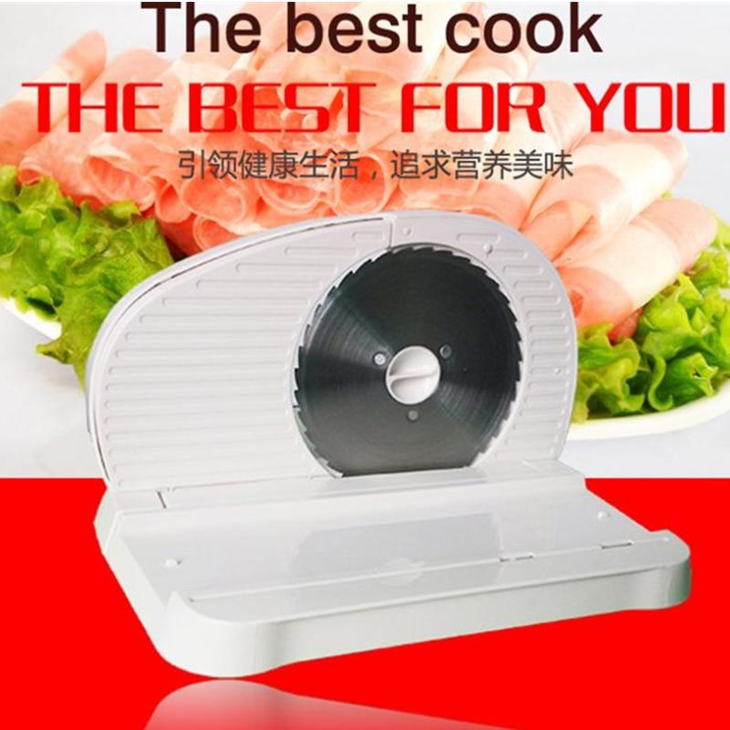 ФОТО 120W 220V Slicing machine household electric meat cutting machine meat slicer 0-15MM