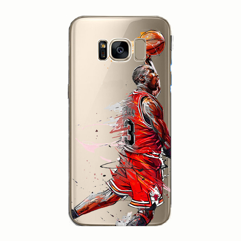 8b50410b8398 soft silicone phone case basketball Lebron james harden Stephen Curry Kobe  for Samsung Galaxy Note 4 5 8 S8 S9 edge plus S6 S7-in Fitted Cases from ...