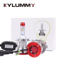 LED H1 H3 H4 H7 9005 9006 H13 H11 H27 Headlight Bulbs Car ZES LED Hi