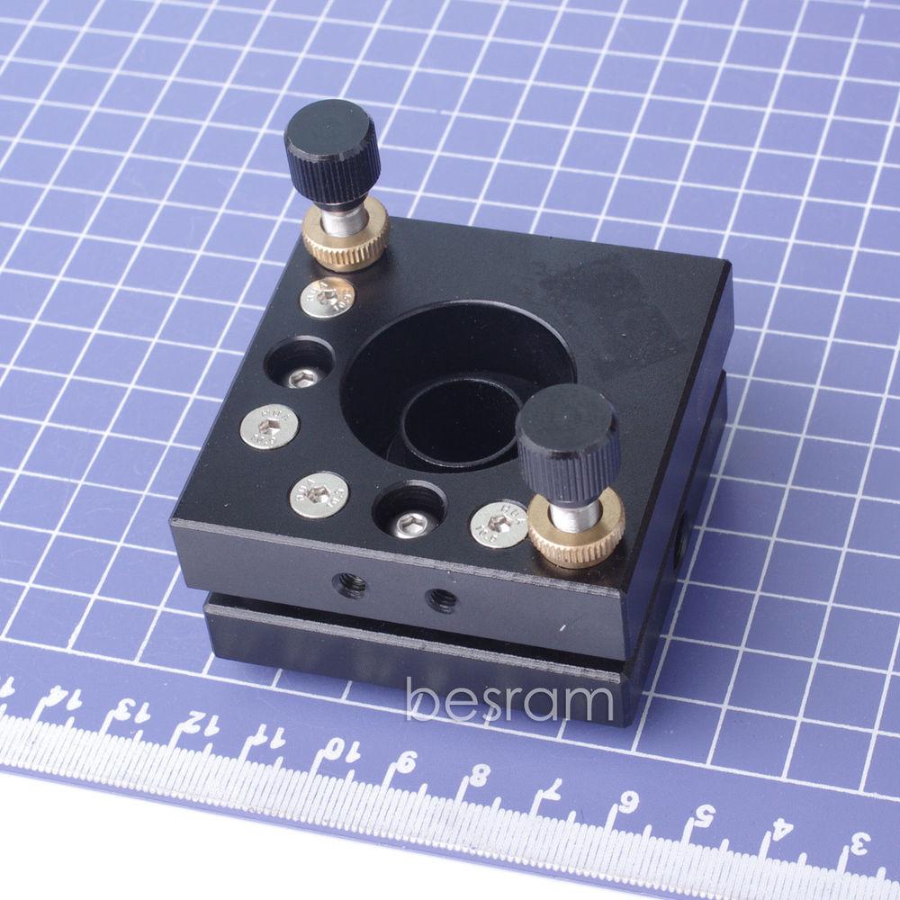 20mm Laser Mirror Mount Holder for Reflective Lens Output Coupler Engraver funssor aluminum alloy gantry end plates laser reflection mirror mount lens carriage plate for diy buildlog 2x laser fast ship