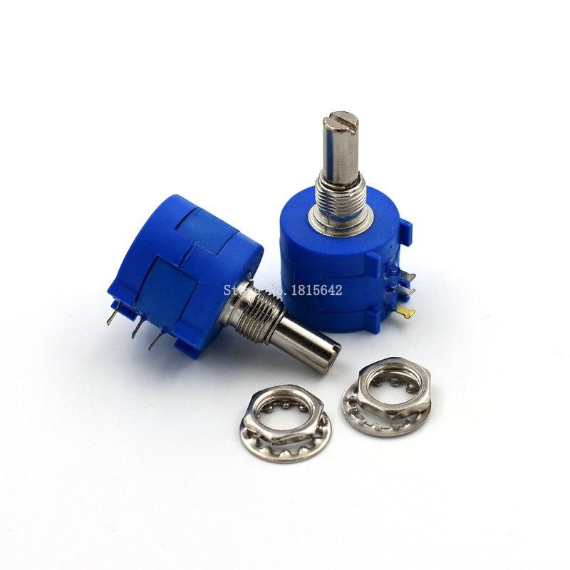 3590S-2-501L 3590S 500 ohm 500R 501 potentiomètre multitours de précision 10 anneau résistance réglable
