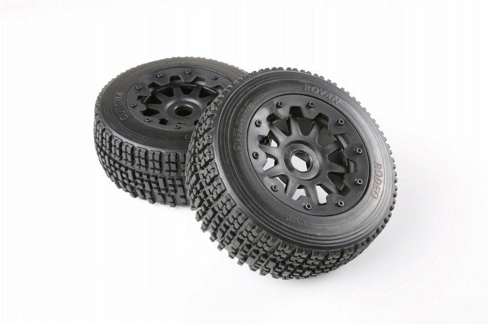 1/5 BAJA 5SC задний комплект шин baja 5sc шины-2 шт./пара-Новое прибытие-увеличенное колесо 95101 для HPI km RV BAJA 5 T 5SC шины