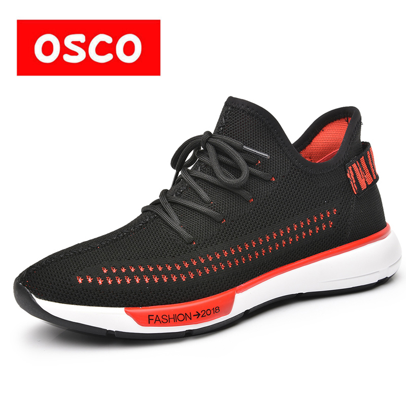 OSCO Fashion Sneakers Men Summer Wild Casual Shoes Men Breathable Walking Trainers Students Trend Flat Slip-on Men Shoes goorin bros men s wild beaver