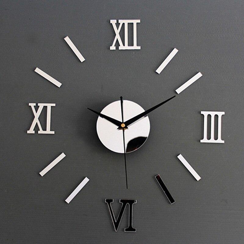 Us 19 34 Offkreatywny Cyfrowy Zegar Naklejany Na ścianę Zegarek Nowoczesny Design Kuchnia Zegar Zegar Diy Zegary Na ścianie Domu W Salonie Wystrój