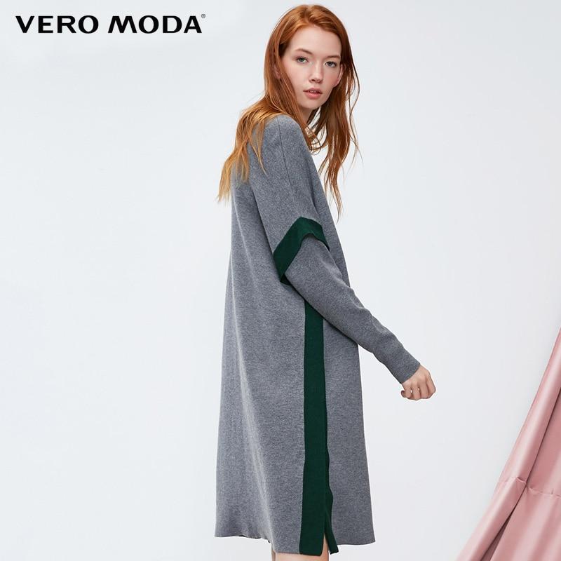 Vero moda 2019 lã tricô vestido | 318446504