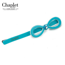Chaplet 2016 New High Quality Women Hair Accessories Girls Hair Clips Bowknot Solid HairPins Rhinestone Hairpins Free Shipping