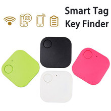 5Pcs Smart Bluetooth GPS Locator Tag Alarm Smart Key Finder Tracker Anti-lost Device For Phone Kids Pets Car Lost Remider Finder smart tag wireless bluetooth 4 0 tracker wallet key keychain finder gps locator anti lost alarm system 3 colors to choose
