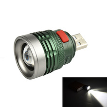 Mini Usb LED Flashlight Cree Q5 Aluminum Work Light 2000LM Waterproof Lanterna 3 Modes Portable LED Torch Lamp 3500 lumens 3 modes cree xml xpe led flashlight torch lamp light outdoor