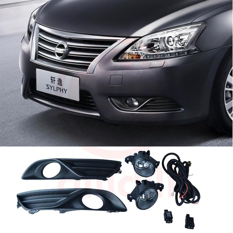 Sada mlhových světlometů pro ptáka Nissan Sentra Sylphy Pulsar ST Sedan 2013-2015