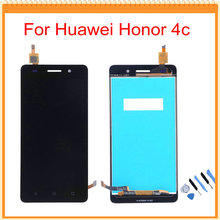 For Huawei Honor 4C LCD Screen Display with Touch Screen Digitizer Assembly + tools Black/White/Gold Free Shipping
