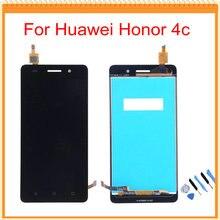 Para huawei honor 4c pantalla lcd con la pantalla táctil del digitizador assembly + herramientas negro/blanco/oro libre del envío